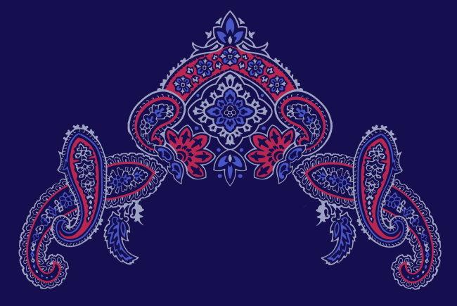 > 传统花纹 刺绣花纹 花边图案  关键词: 边框底纹 纺织 植物花纹