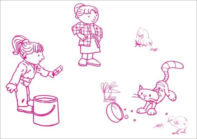 关键词:小姑娘喂养动物-手绘画 矢量 素材 白描画 素描画 手绘画 美术画 工笔画 简写画 简笔画 钢笔画 线条画 笔画 儿童画 画 卡通人物 卡通 可爱卡通 小猫 猫咪 宠物 宠物猫 小女孩 小鸡 小鸟 小虫 喂动物 冰棒 小姑娘 逗乐 飞鸟 可爱动物 动物卡通 钵 扎马尾 鹦鹉 说明:小姑娘喂养动物-手绘画