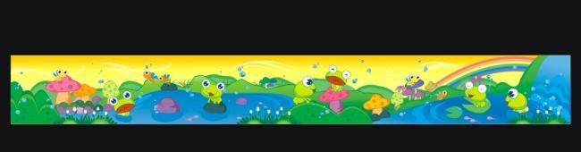 童年 童年画 童年记忆 校园文化墙 文化墙图片 说明:校园文化幼儿园