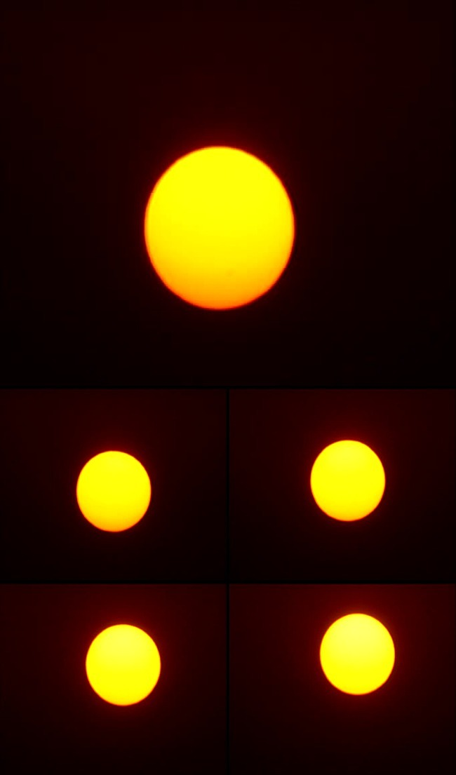 日落 早晨朝阳升起 黄昏夕阳落下 东升西落 栏目包装 影视后期 红太阳