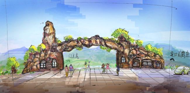 景观效果图 景观园林 景观设计图片 景观效果图素材 景观手绘效果图