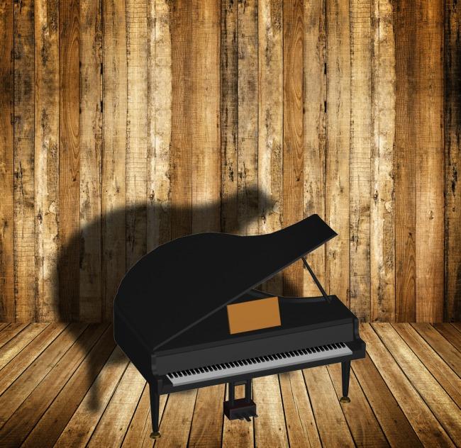 漂亮的钢琴模型