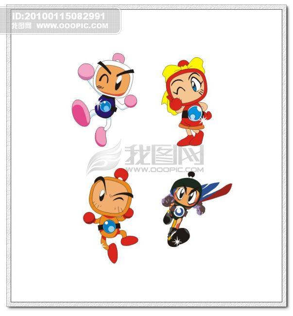 卡通形象 > 卡通人物  关键词: 卡通人物 卡通战士 可爱有趣 可爱卡通