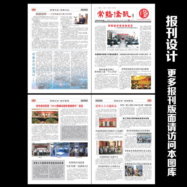 报纸 政府报刊 企业文化 校报 版头 标题设计 内刊 报纸排版 刊物设计