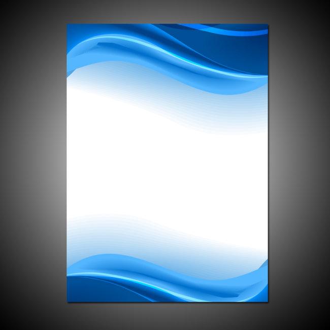 海报背景图(半成品) > 蓝色科技 公司企业海报背  展板psd模板 高清