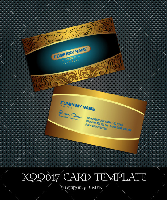 珠宝首饰名片 浮雕 花纹 名片设计 广告设计模板 说明:欧式金属名片