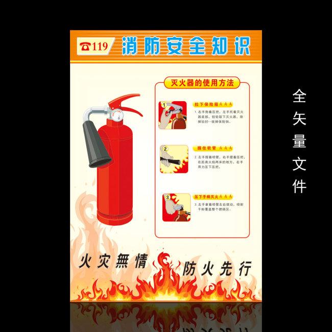 【cdr】消防安全知识漫画展板设计
