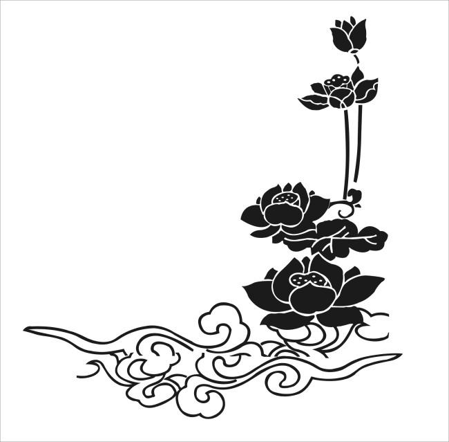 【cdr】莲花矢量