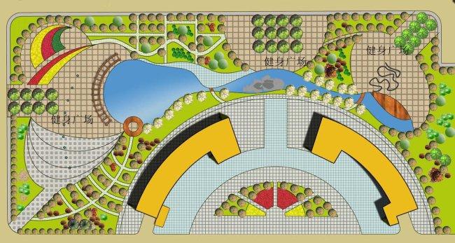 主页 原创专区 室内装饰|无框画|移门 园林设计 > 广场绿化设计方案