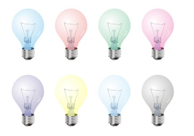 【cdr】灯泡矢量图