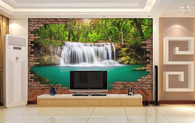 立体电视背景_瓷砖背景墙 创意背景墙 壁纸 墙纸 3d背景 方格 立体方格 电视背景
