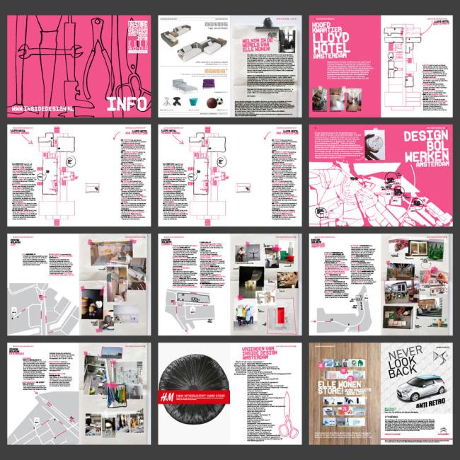 【ai】国外汽车时尚画册杂志排版模板