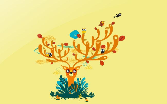 关键词:鹿 鹿角 鹿图片 鹿头 鹿角 创意鹿 鹿抽象 花纹 绘画 全矢量 线条 小鸟 草 素材 背离 线条 矢量 CDR 说明:鹿绘画鹿角