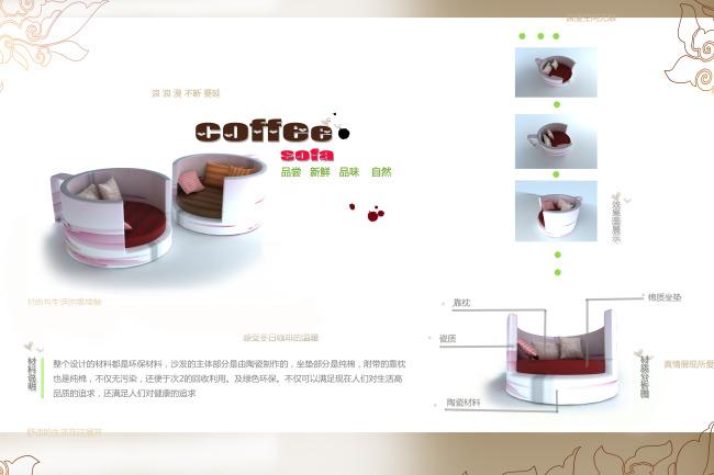 【psd】3d家具毕业设计展板一套图