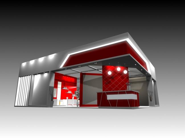 会展 展览 标摊 豪标 展览设计 环境设计 空间设计 特装 豪装 3d展台