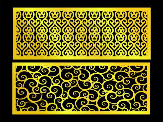 窗格图案 镂空花纹 中式镂空图案 欧式雕花 欧式花纹 密度板镂空 木板