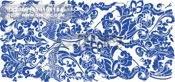 【eps】凤凰 矢量凤凰 传统纹样