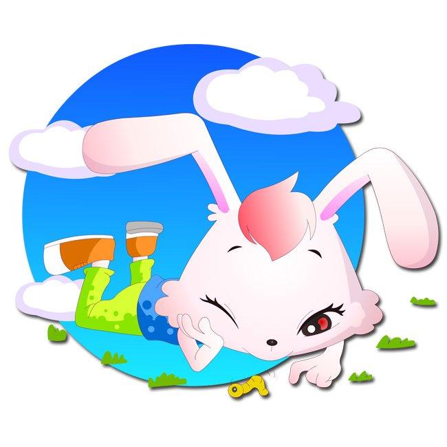 插画|素材|元素 卡通形象 > 快乐儿童之逗昆虫的图图03  小动物 顽皮