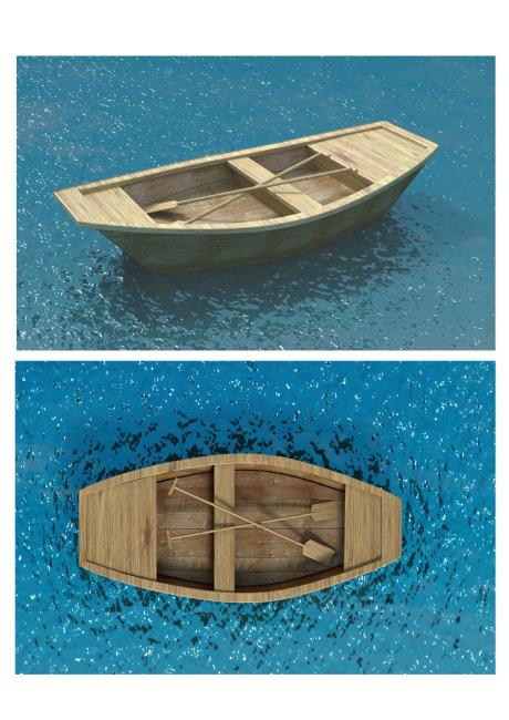 【max】木船模型