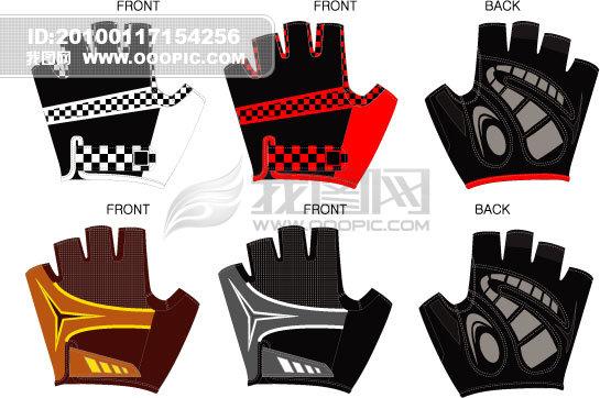 户外运动产品 正版设计稿 服装 创意设计 创意产品 说明:手套设计模板
