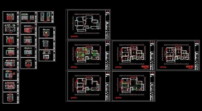 CAD室内户型图