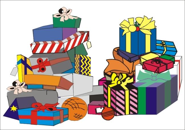 其他包装 > 生日礼物  关键词: 生日礼物 cdr 矢量 coreldraw 9 一堆