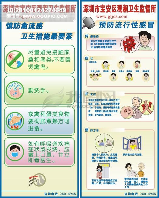 【cdr】卫生监督所海报