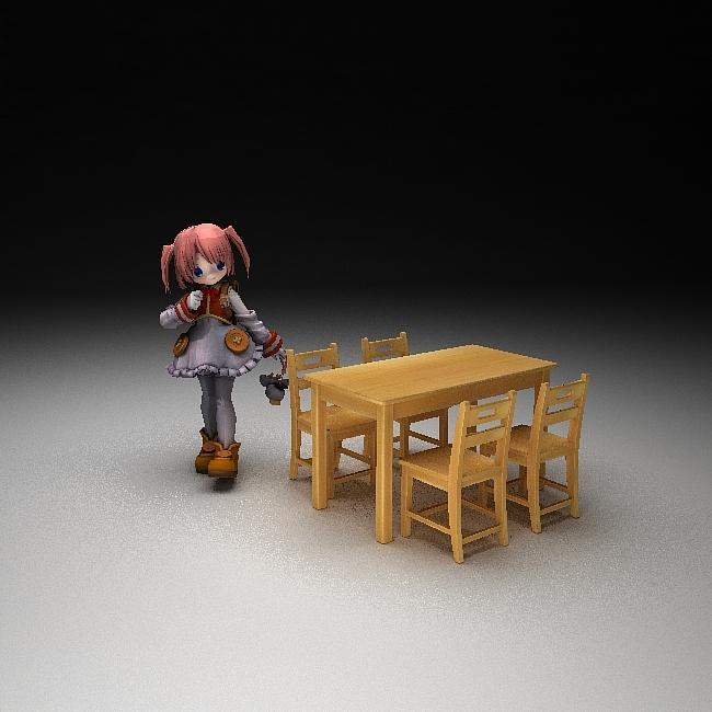 主页 原创专区 3d模型下载 模型库 家居模型 > 幼儿园实木桌椅  关键