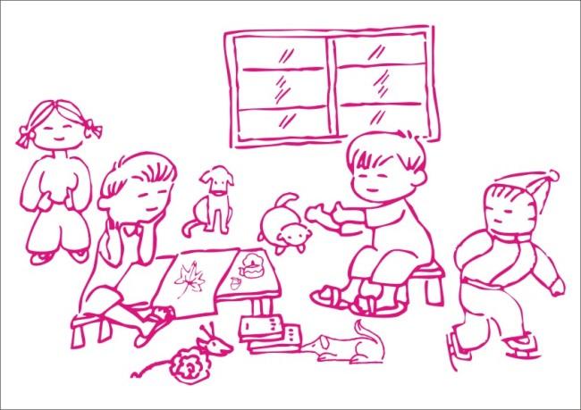 关键词:小朋友看书写画-手绘画 矢量 素材 白描画 素描画 美术画 简写画 简笔画 钢笔画 线条画 手描画 插画 画 绘画 手绘图 白描图 动物 狗 宠物 枫叶 小女孩 小男孩 学生 同学 桌子 猫 可爱 窗户 看书 茶壶 茶杯 小凳子 滑冰 戴帽 椅子 动物形象 卡通动物 卡通人物 说明:小朋友看书写画-手绘画