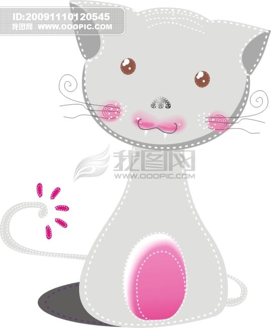 【cdr】招财猫咪,sweet cat