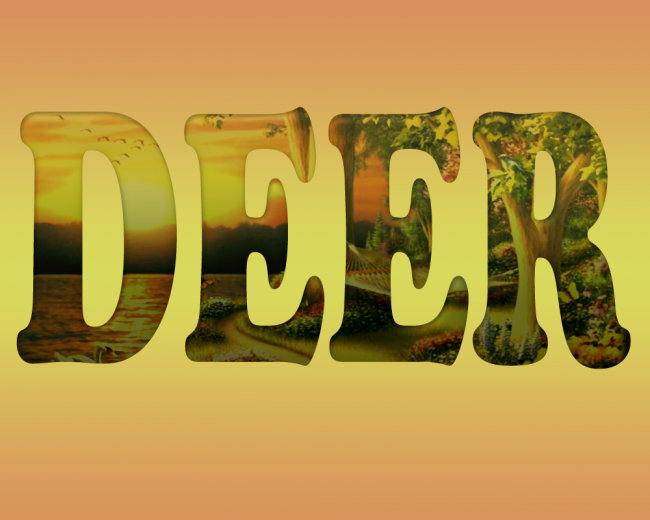插画|素材|元素 艺术字 > 风景文字  关键词: 艺术字 风景文字 英文