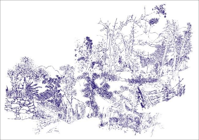 国画 设计 矢量 矢量图 素材 650_459
