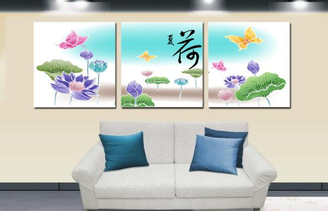 无框画 > 室内装饰墙画  抽象画 现代画 国画 国画风格 水粉画 水墨