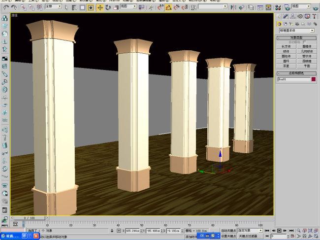 柱子 柱子模型 3d柱子 罗马柱 欧式柱子 3d柱子模型 石柱 大理石柱子