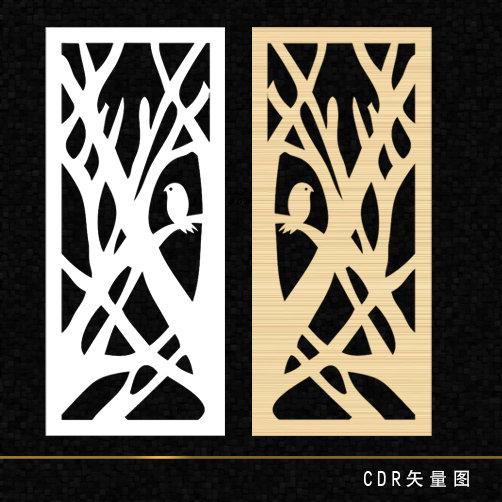 关键词: 镂空雕刻 花纹 玻璃雕刻 窗户 中式花纹 雕花 树叉 木板雕刻