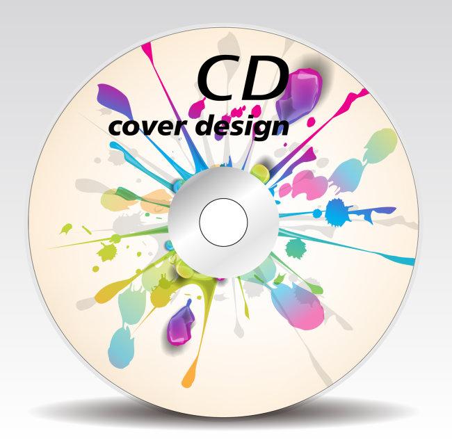 新年礼品|包装设计模板 光盘设计|光盘封套 > 时尚高档流行cd音乐光盘