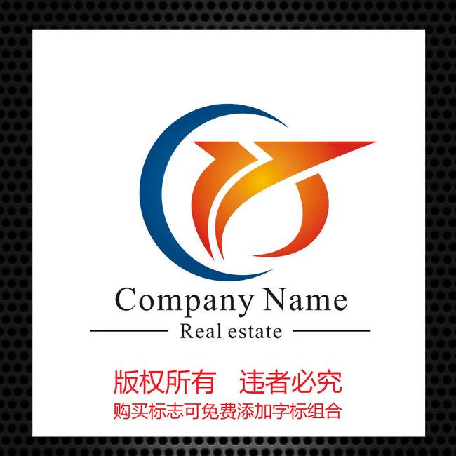 标志logo设计(买断版权) 商业服务logo > 字母cx组合标志设计模板下载