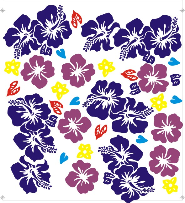 花 花边 花朵 花瓣 花草 花卉 花边边框 花藤 花纹边框 说明:花纹五色