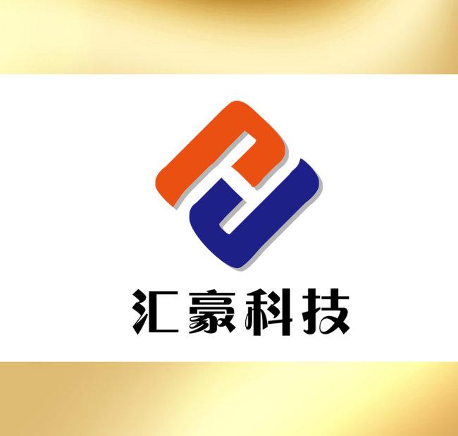 【cdr】h字母变形logo设计