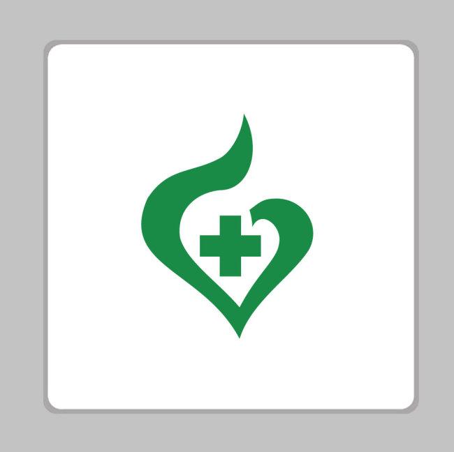 logo设计 logo标志 logo素材 logo矢量图 logo矢量 说明:医疗卫生标志