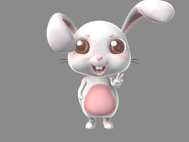 主页 原创专区 3d模型下载|模型库 动物模型 > 兔子模型  关键词