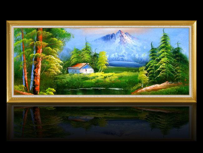 室内装饰用图 > 临摹习作高清油画  关键词: 油画 书画 临摹习作 风景