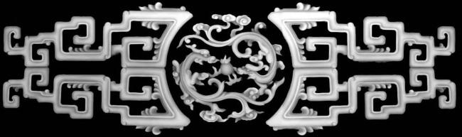 浮雕花纹模板下载 浮雕花纹图片下载 红木家具 位图 灰度图 雕刻图
