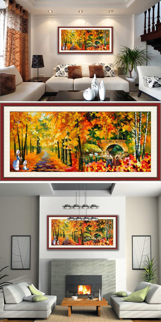 城市 大自然 油画风景 写实主义 风景油画 抽象油画 风景画 中国画