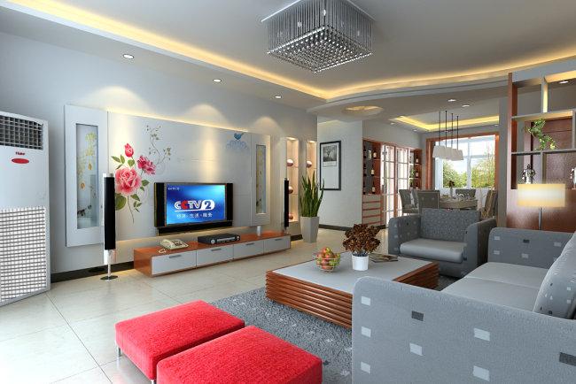 室内效果图客厅效果图画法效果图书籍背景墙说明设计隔断:室内效有关室内设计施工图电视的餐厅图片