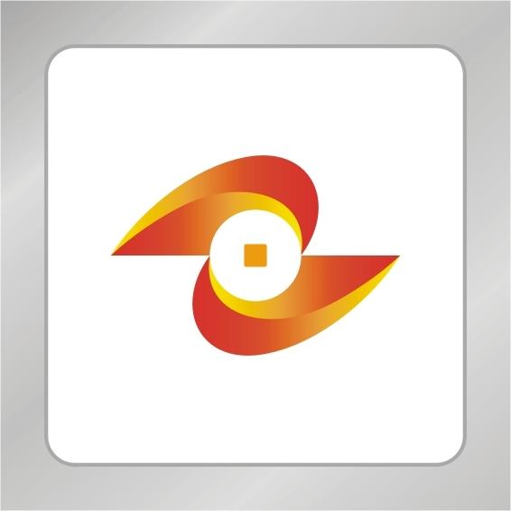 【cdr】z字母铜币logo设计