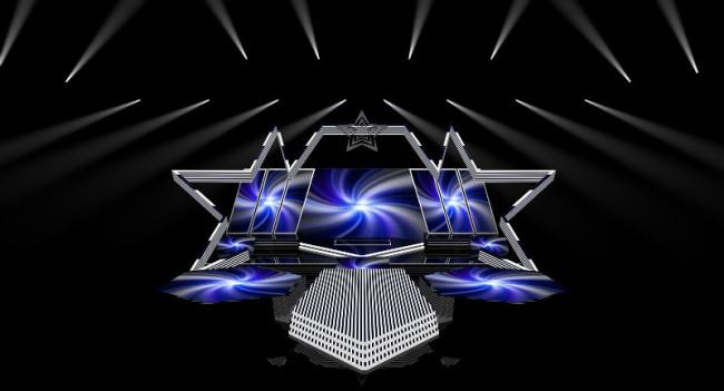 【max】跨年晚会年会演唱会舞台舞美设计图效果图