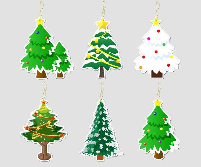 书签设计模板 书签设计图片 书签条 书签设计欣赏 书签纸 圣诞树书签