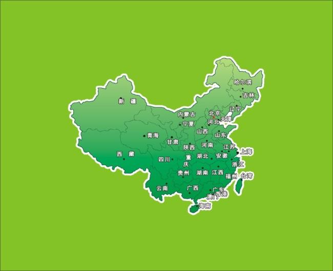【cdr】矢量中国地图
