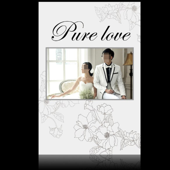 【psd】婚紗模板相冊封面下載psd圖片